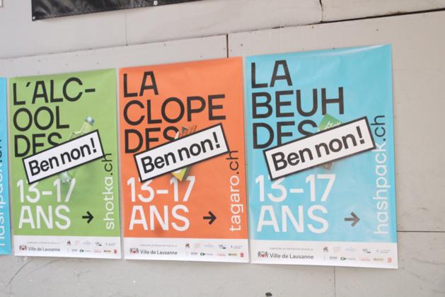 Lausanne en campagne contre les vices des jeunes