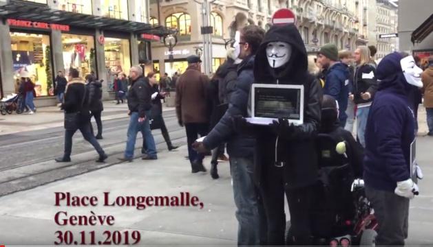 """Anonymous for the Voiceless : """"Plus de 212'000 animaux sont tués chaque jour en Suisse"""""""