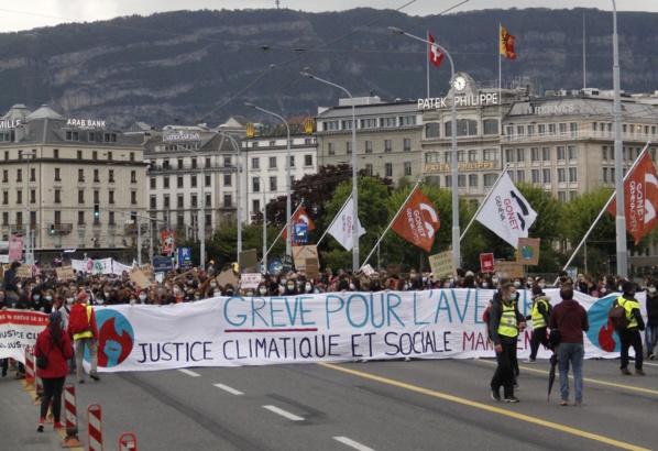 Grève pour l'avenir à Genève: «Ne nous regardez pas, rejoignez- nous!»