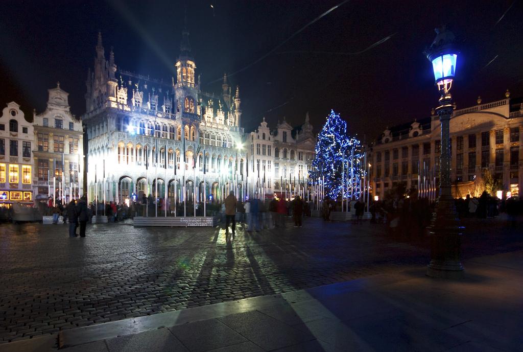 Bruxelles, ville fantôme à la veille des Fêtes de Noël