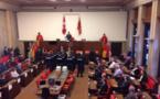 Seize nouveaux agents de détention prêtent serment