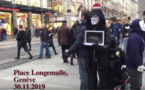 "Anonymous for the Voiceless : ""Plus de 212'000 animaux sont tués chaque jour en Suisse"""